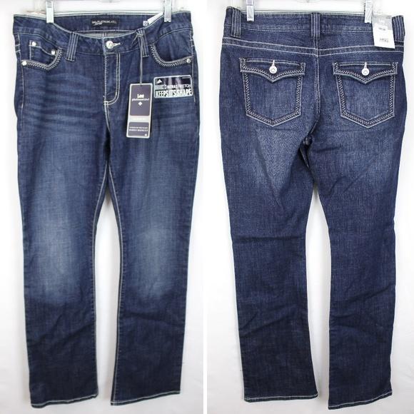 25ebfe14 Lee Jeans | Platinum Midrise Secretly Slender Saira | Poshmark